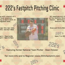 Redvers Pitching Clinic – Starting in April 2018!