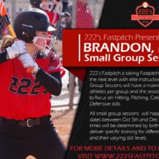 Brandon Small Group Training – Birth Years 2005-2003